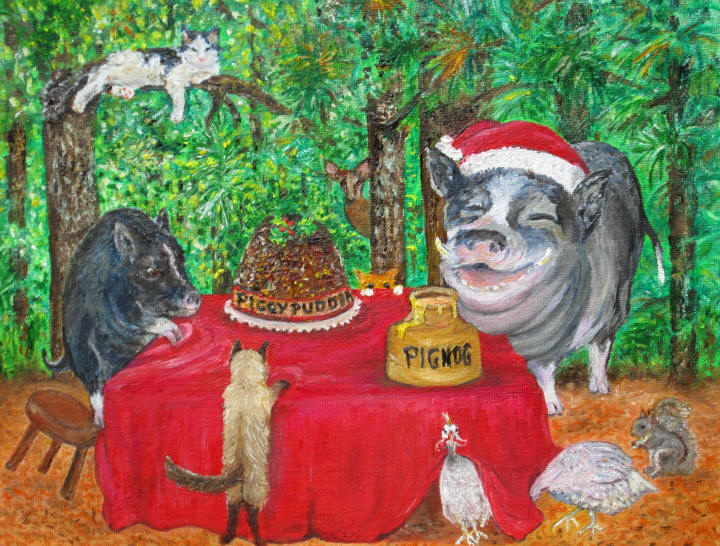 Humphrey's Christmas Party